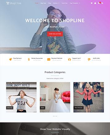 Oneline Lite Theme - Themehunk WordPress Responsive Theme