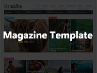 Elanzalite Free Blog Theme - Themehunk WordPress Responsive Theme