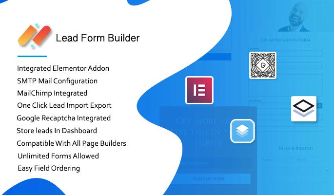 Lead form Builder Pro