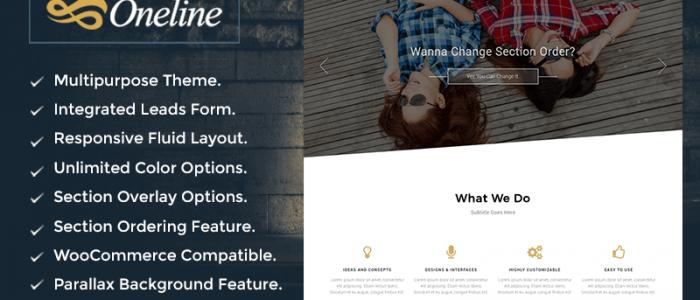 Responsive Parallax WordPress Theme