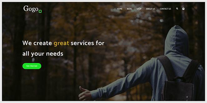 gogo-WordPress-theme