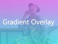 Gradient overlay shopline