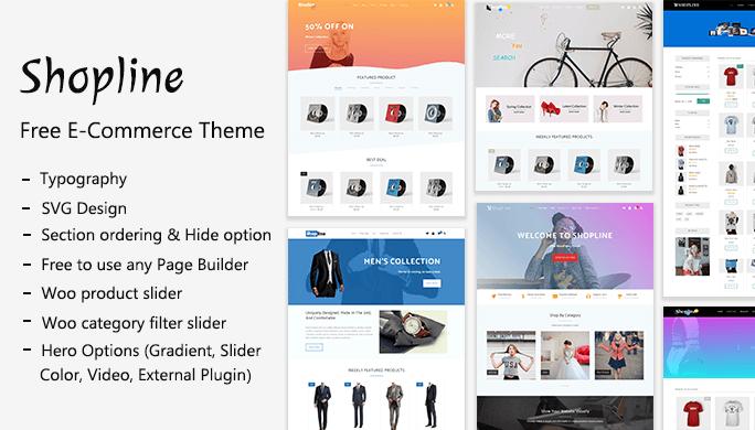 Shopline - Free Shopping Theme - Themehunk Themes