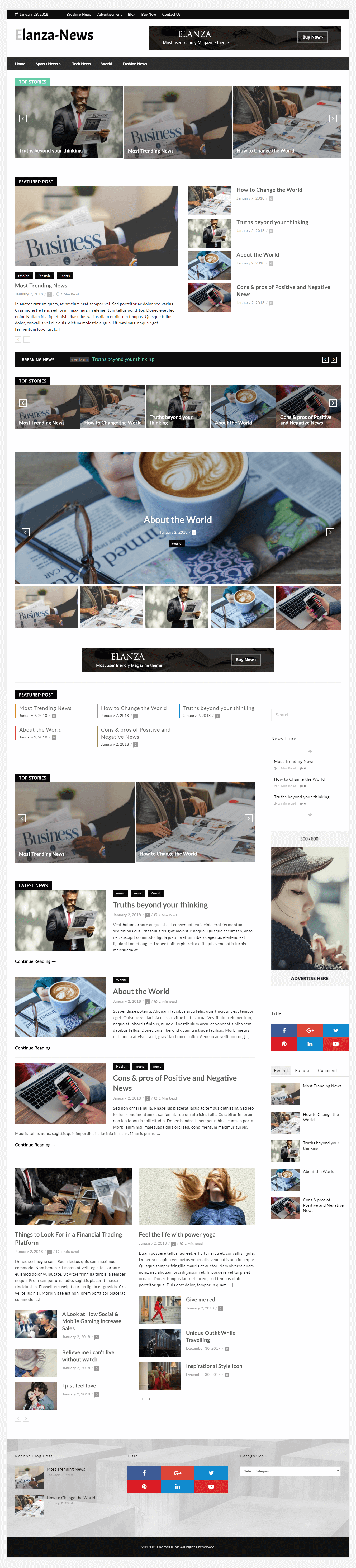 Newspaper website