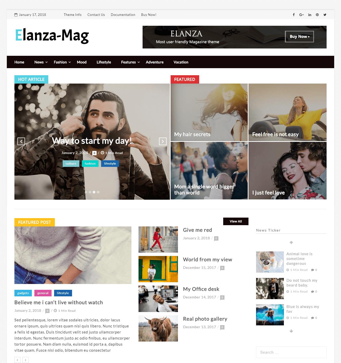elanza magazine