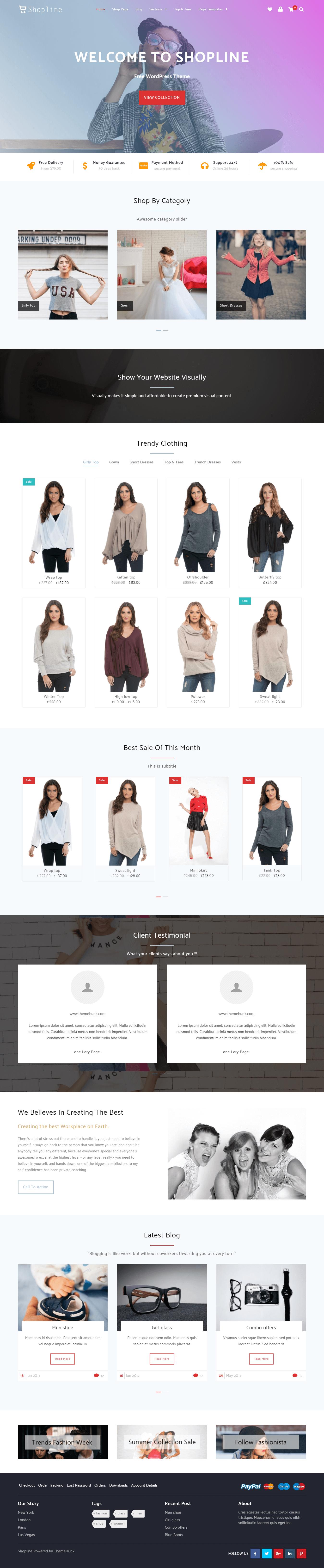 Shopline Demo 1