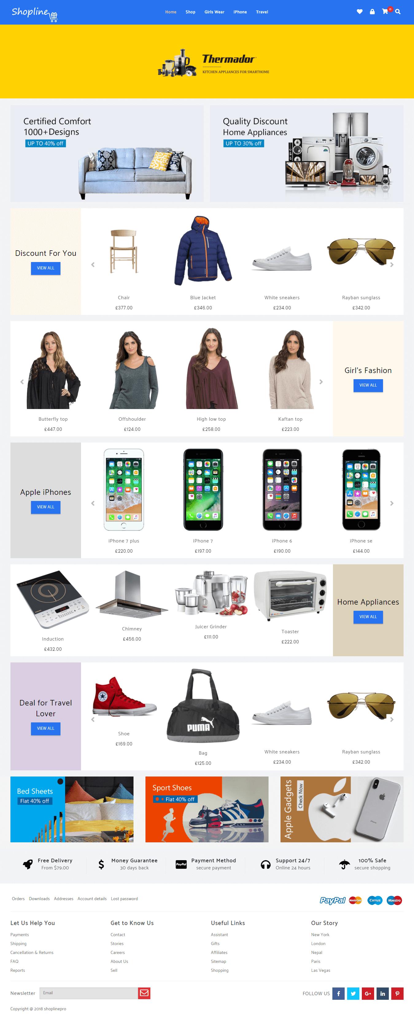 Shopline Pro Demo 2