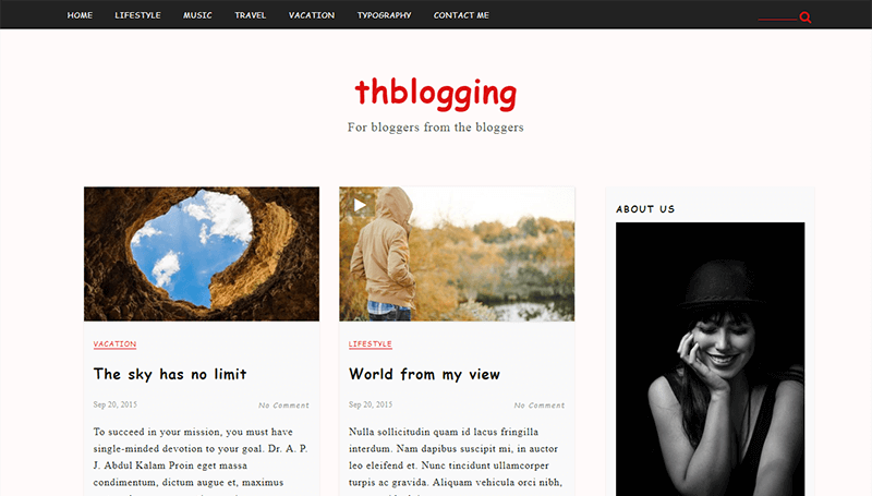 thblogging-blogging-theme