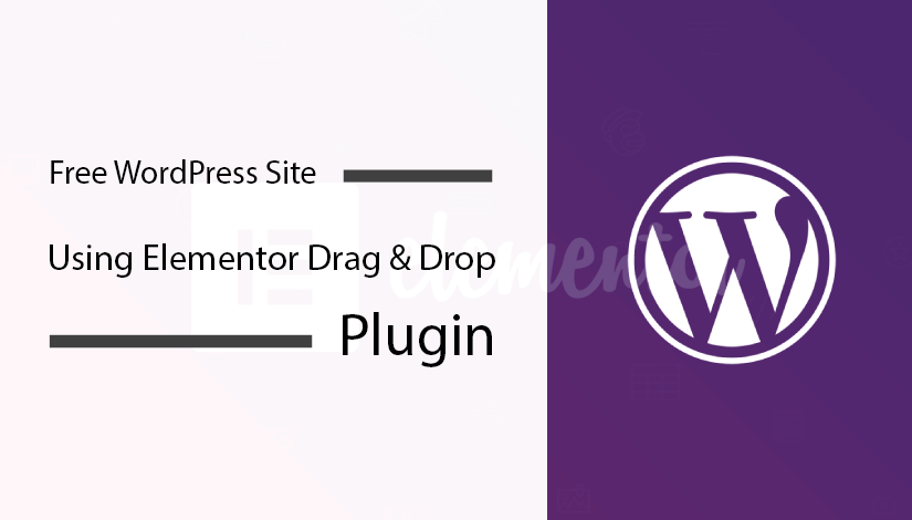 Create-Free-WordPress-Site-Using-Elementor-Drag-&-Drop-Plugin
