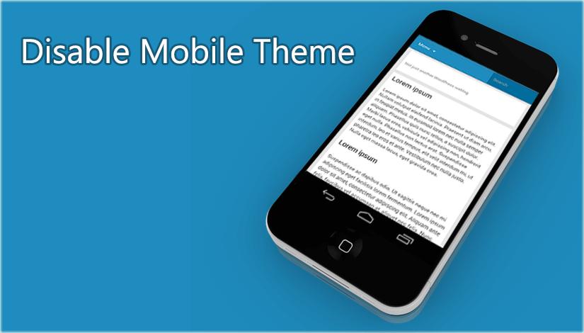 Disable-mobile-theme-blog-image