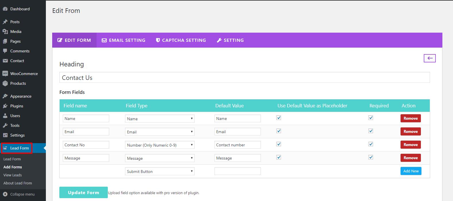 lead form builder blog