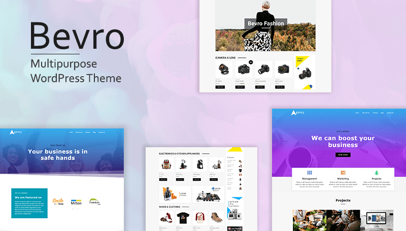 Bevro WordPress Theme - ThemeHunk WordPress Responsive Themes