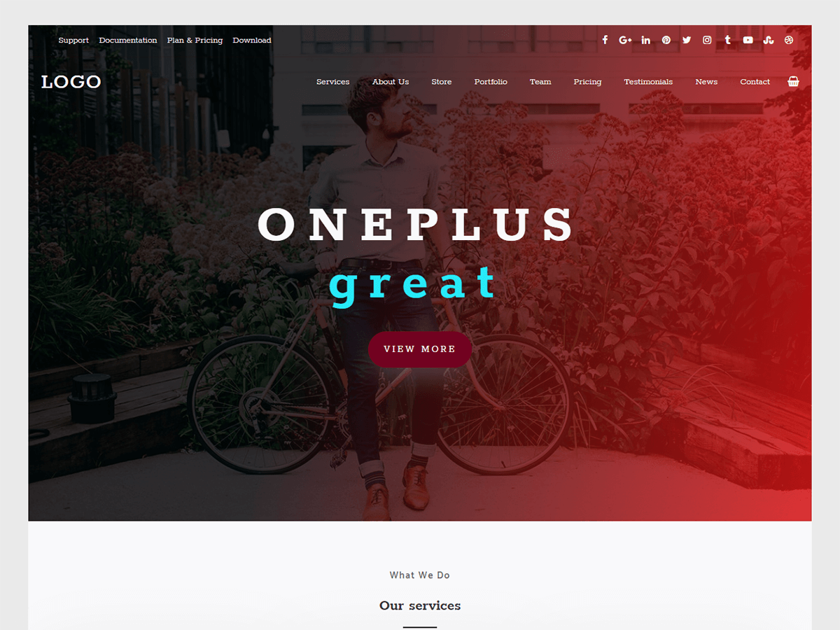 oneplus-WordPress-theme.png