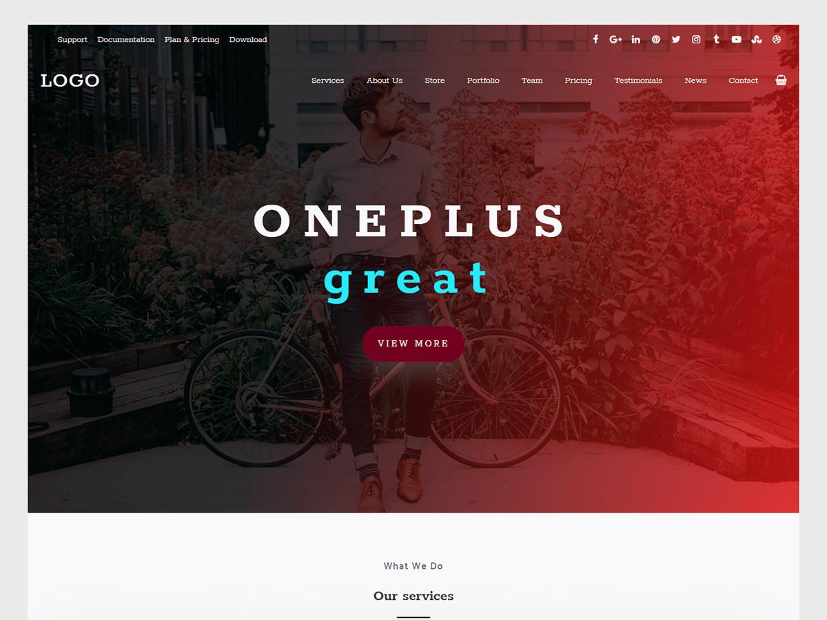 oneplus-WordPress-theme.png