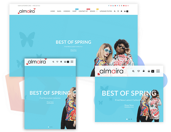Almaira Shop - Multipurpose Responsive eCommerce Theme