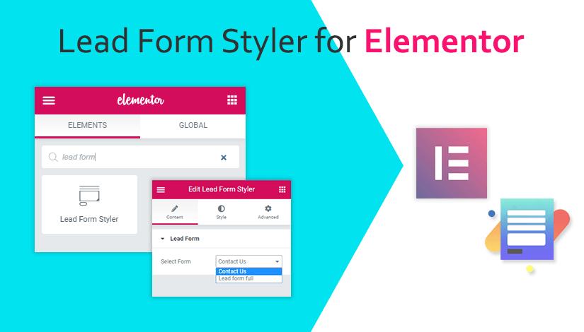 Lead Form Styler for Elementor
