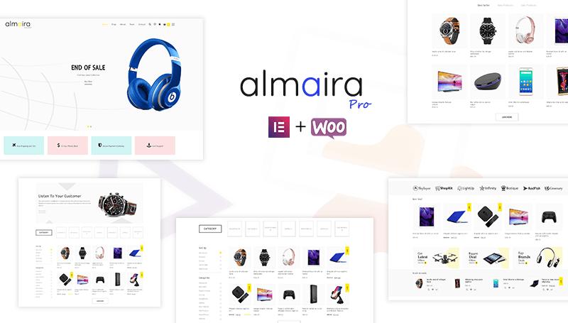 Almaira Pro - Multipurpose eCommerce Theme