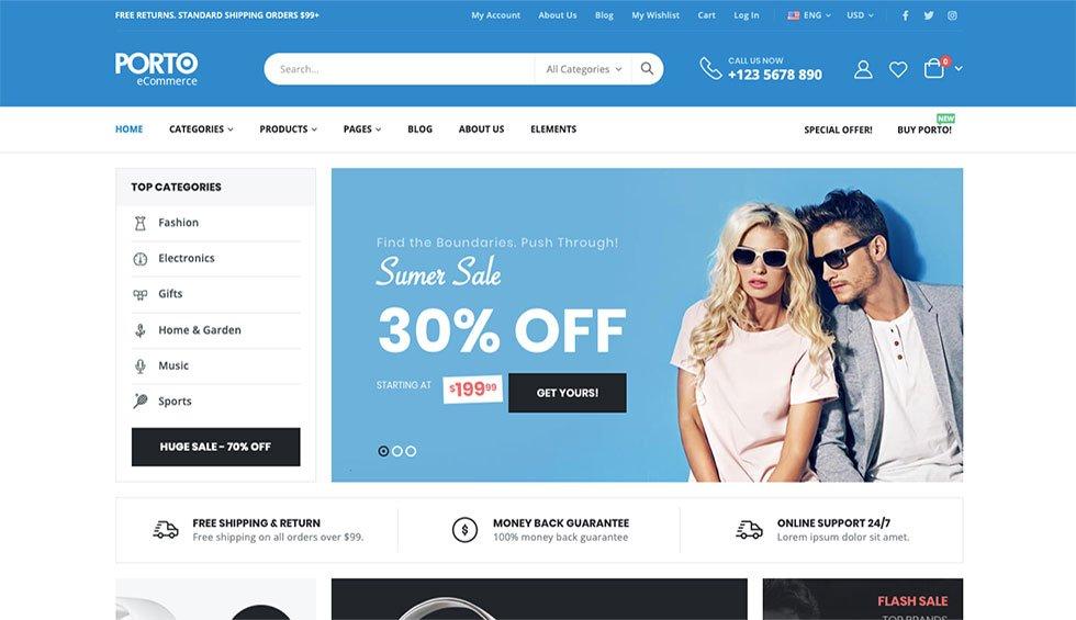 best shopping WordPress themes
