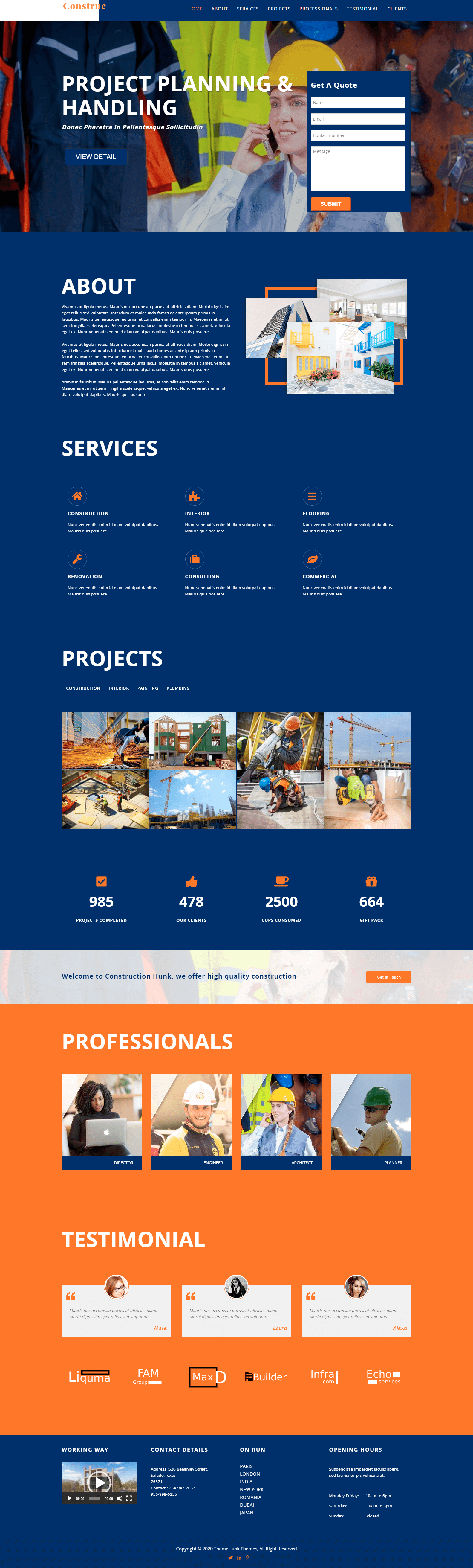 Featured Construction