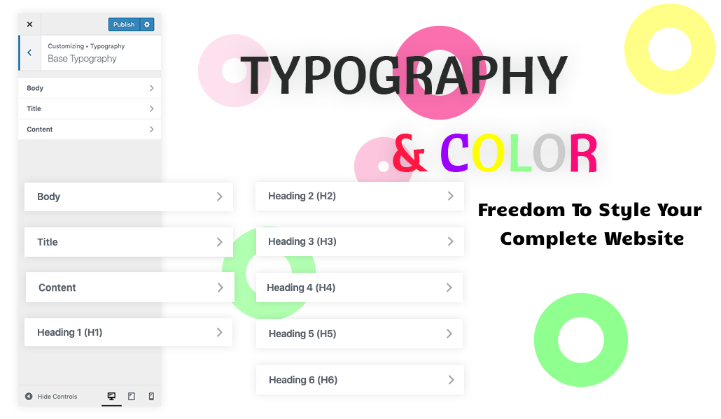 Bevro Typography
