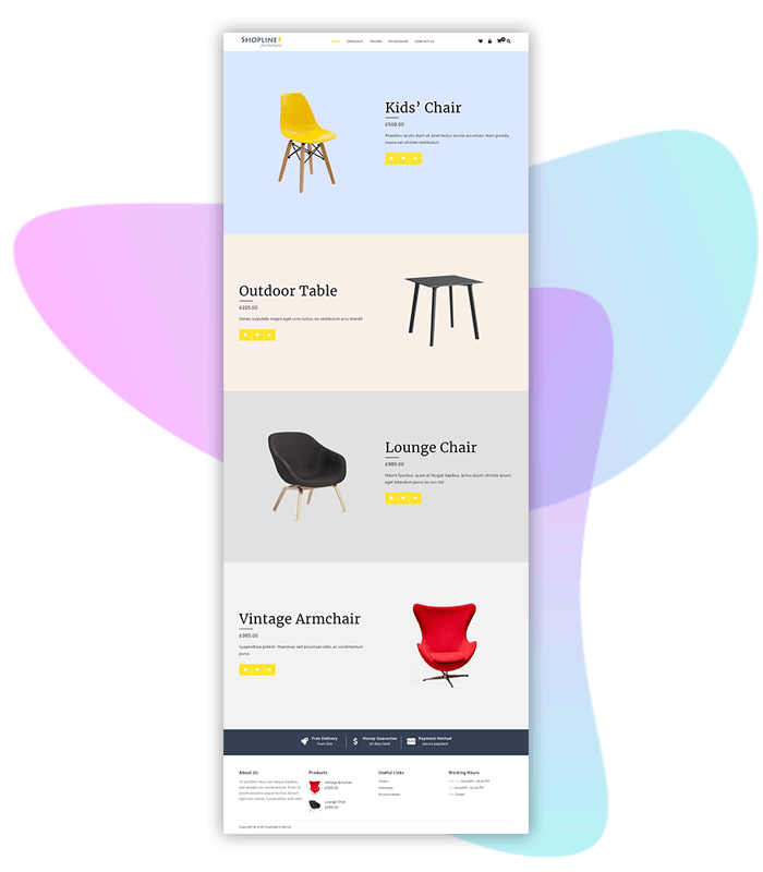 template-demo-page-one-click-Furniture-Store