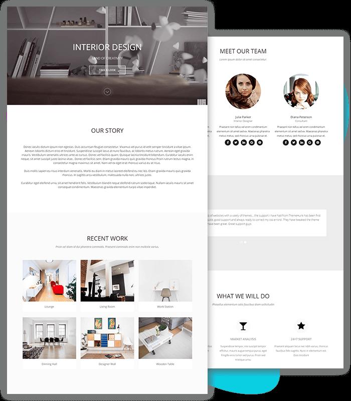 template-demo-page-one-click-Interior-design-novelpro