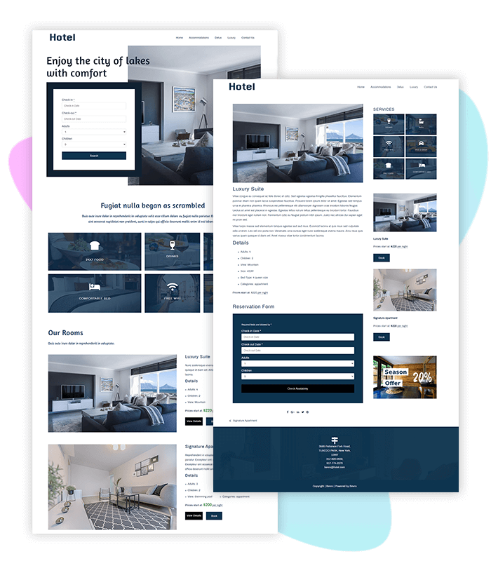 Hotel-booking-template-one-click-demo
