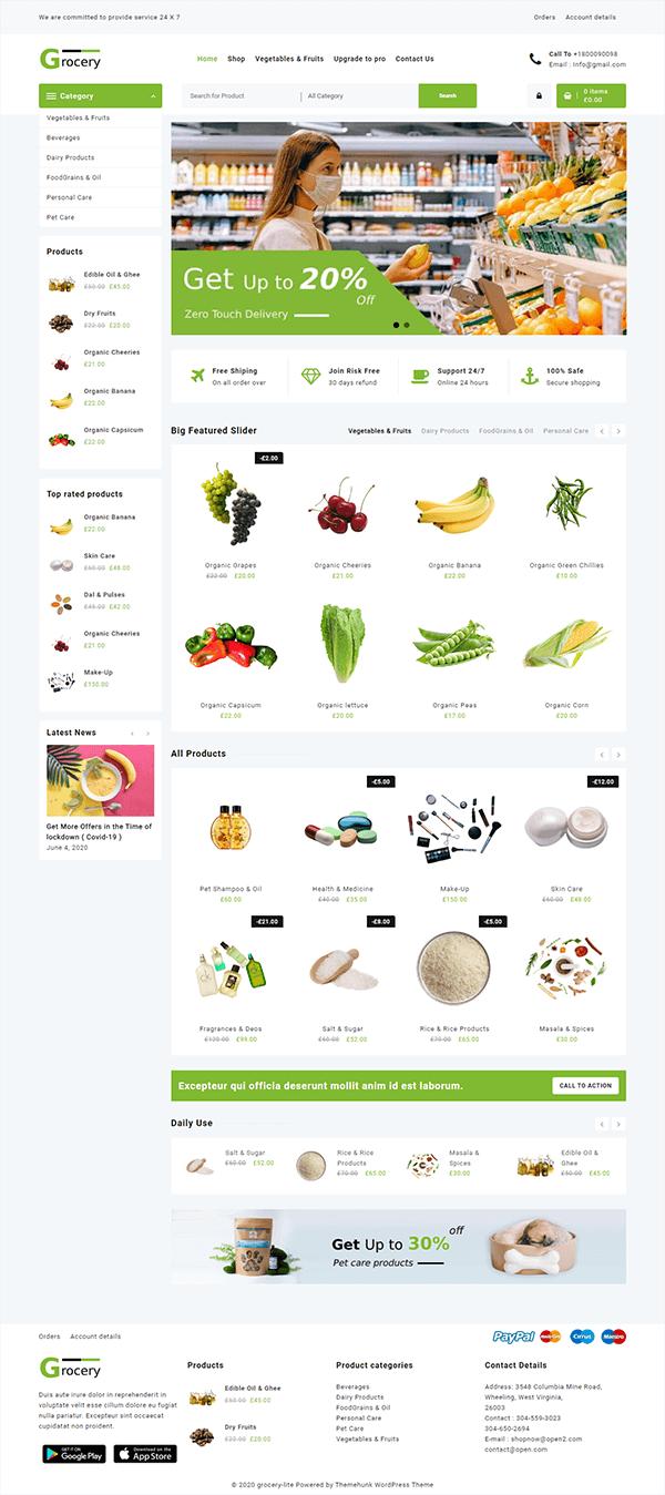 Open Shop Grocery