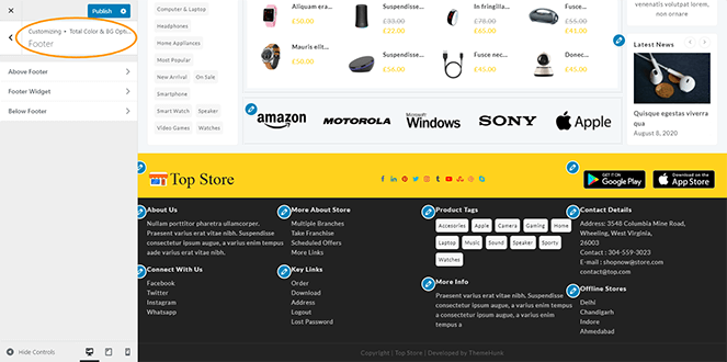 footer-color-top-store-pro