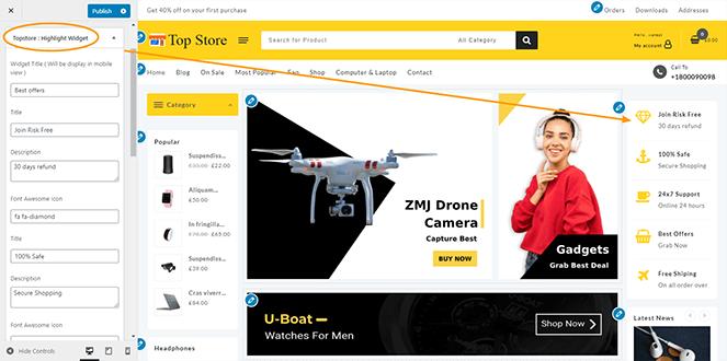highlight-widget-top-store-pro
