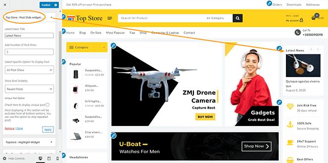post-slider-widget-top-store-pro