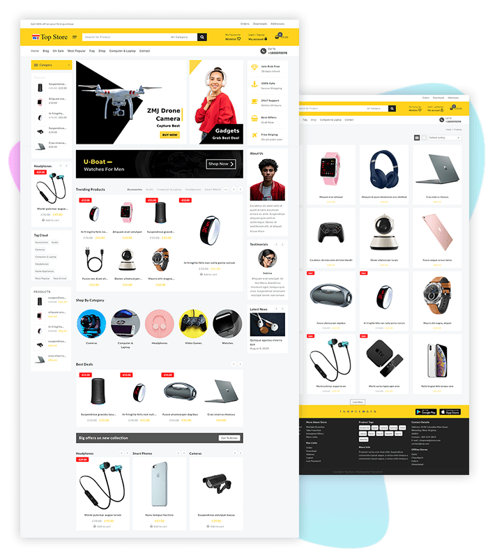 template-demo-electronic-top-store-pro