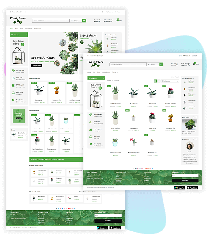 template-demo-page-one-click-plant-store