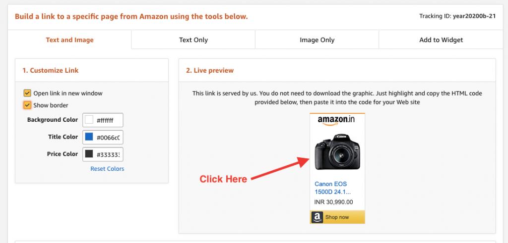 WordPress Amazon Affiliate Products