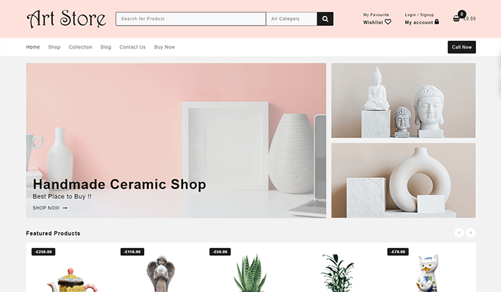 Art Store & Home Decor