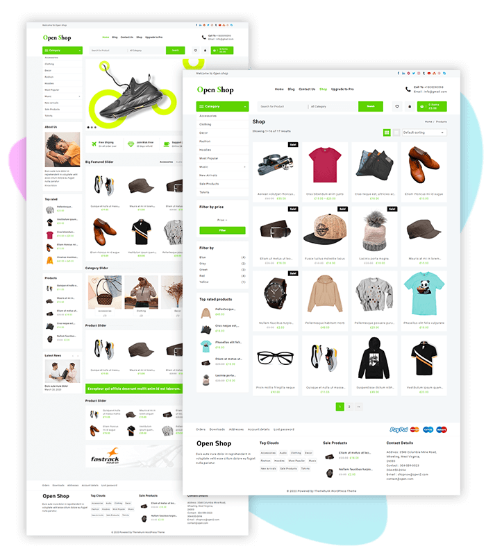 template-demo-page-one-click-Fashion-&-Accessories-Outlet