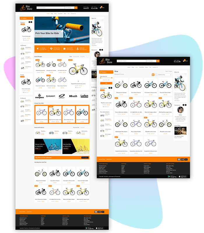 template-demo-page-one-click-bike-store