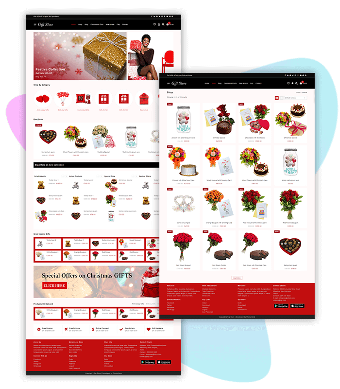 template-demo-page-one-click-gift-store