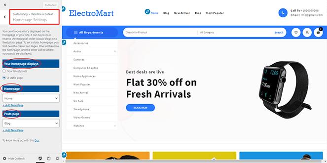 homepage-setting-open-mart