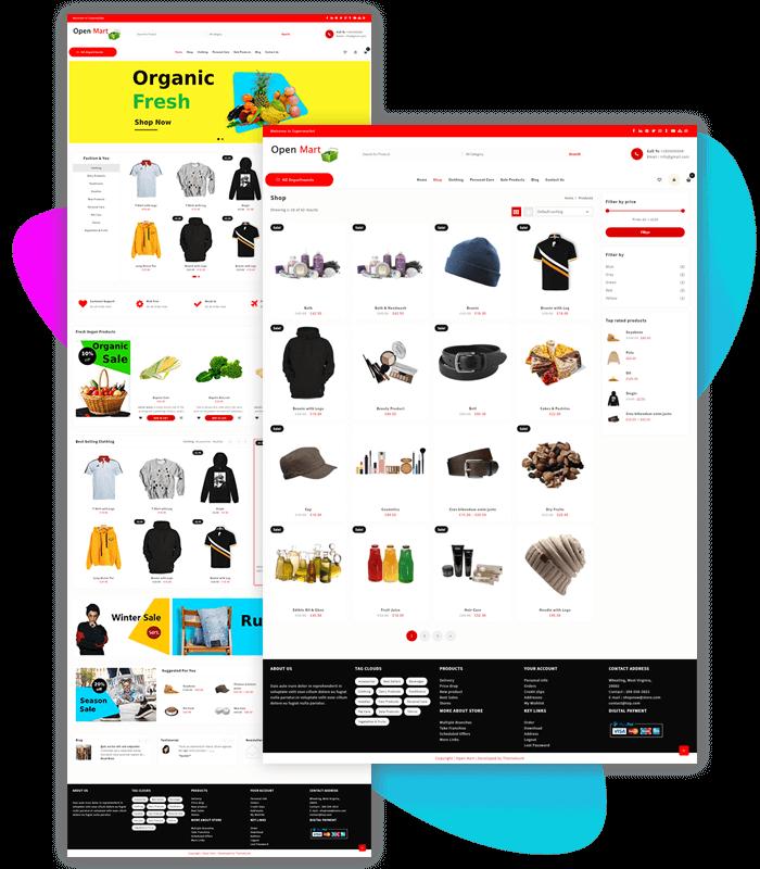 open-mart-shop-demo-import