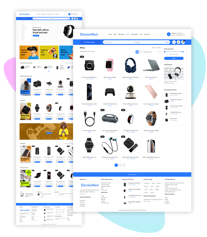 template-demo-page-one-click-electromart