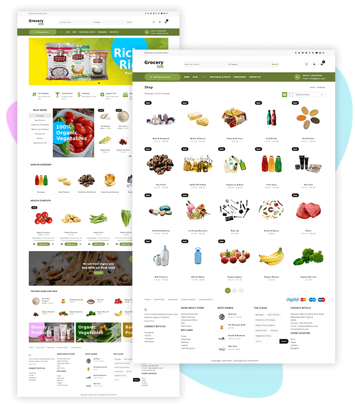 template-demo-page-one-click-grocery-mart