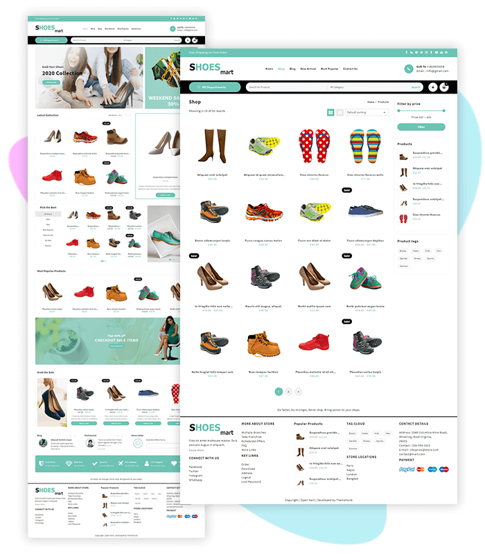 template-demo-page-one-click-shoes-and-footwear