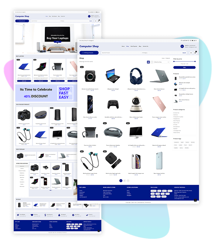 template-demo-page-one-click-computer-shop