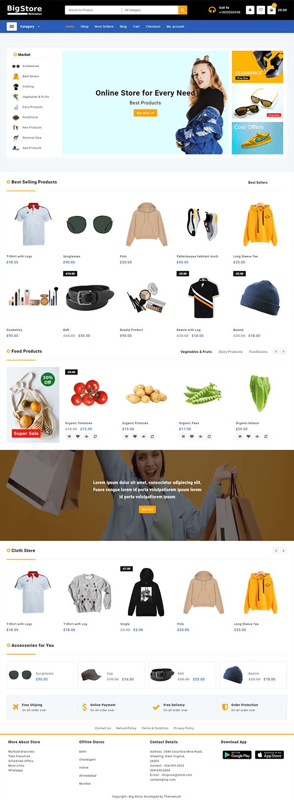 Big Store - Marketplace