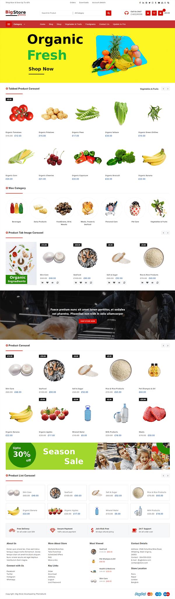 Big Store - Groceries