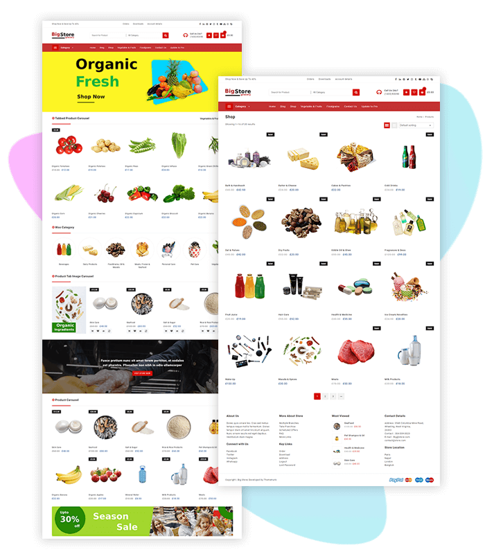 template-demo-page-one-click-groceries-store