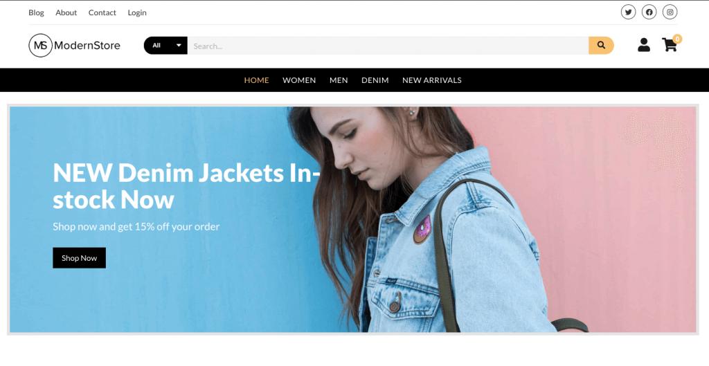 Free Clothing & Fashion Shop WordPress Themes