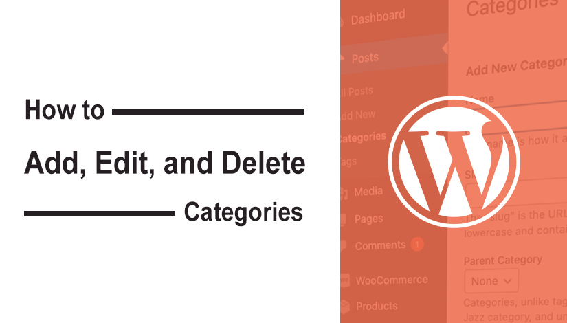 How to Add, Edit, and Delete Categories