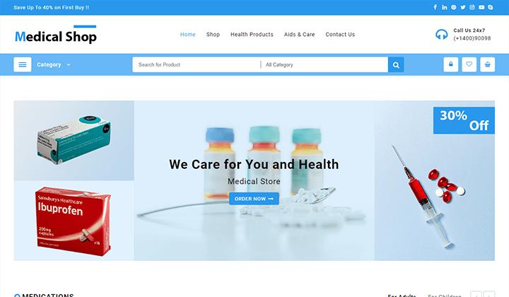 medical-shop-demo
